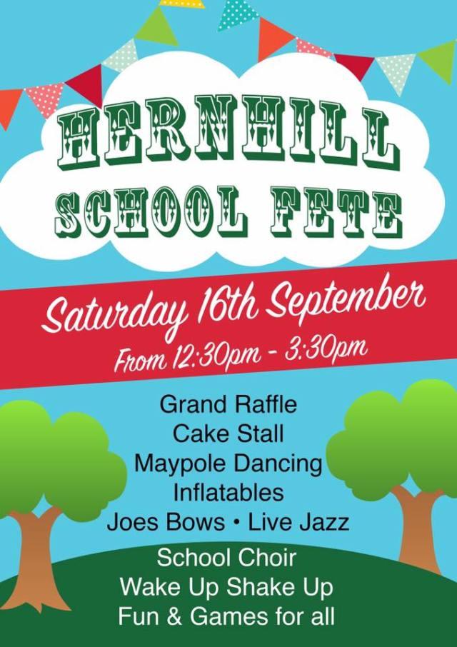 Hernhill school fete